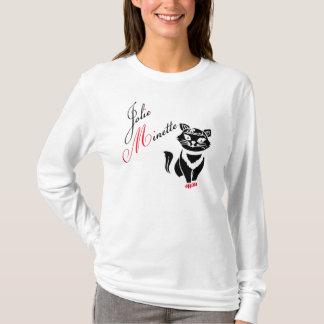 tee-shirt woman pretty iron ore design by ambi. G T-Shirt