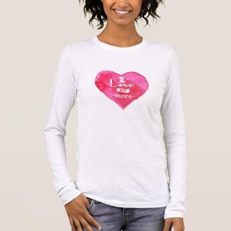 Tee-shirt Woman Valentine Saint Long Sleeve T-Shirt