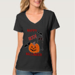 Tee Shirt Womens Boo  Tee Halloween at Zazzle