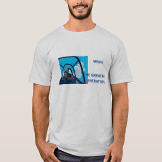 TEE SHIRT  WWII HERO THE GREATEST GENERATION