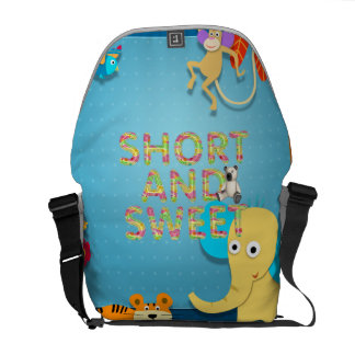 TEE Short and Sweet Courier Bag