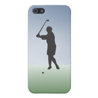 Tee Shot Female Golfer Cover For iPhone SE/5/5s