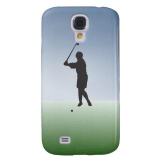 Tee Shot Female Golfer Galaxy S4 Cover