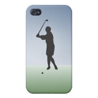 Tee Shot Female Golfer iPhone 4/4S Covers