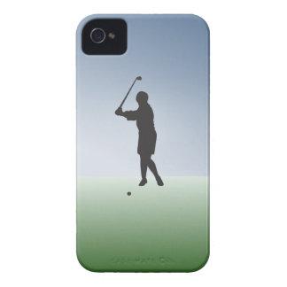 Tee Shot Female Golfer iPhone 4 Case-Mate Case