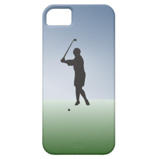 Tee Shot Female Golfer iPhone SE/5/5s Case
