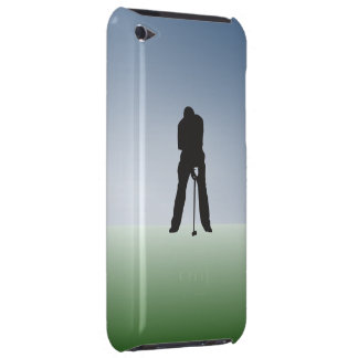Tee Shot Male Golfer Barely There iPod Cases