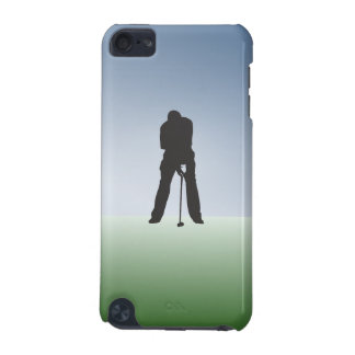 Tee Shot Male Golfer iPod Touch (5th Generation) Cover