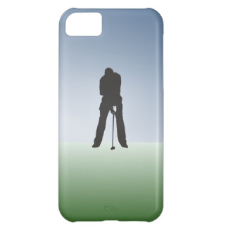 Tee Shot Male Golfer Case For iPhone 5C