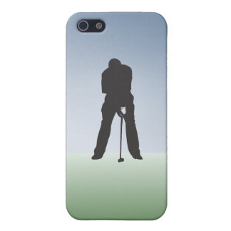 Tee Shot Male Golfer Cover For iPhone SE/5/5s