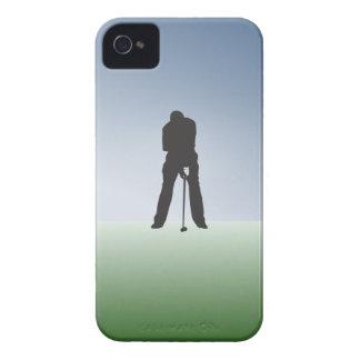 Tee Shot Male Golfer iPhone 4 Case