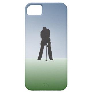 Tee Shot Male Golfer iPhone SE/5/5s Case