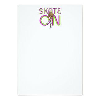 TEE Skate On Card