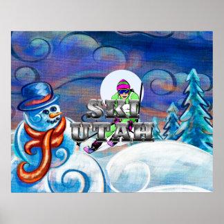 TEE Ski Utah Poster