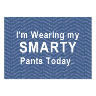 TEE Smarty Pants Large Business Card