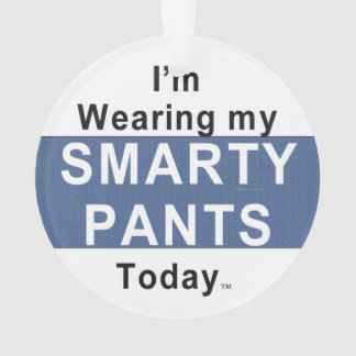 TEE Smarty Pants Ornament