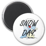 TEE Snow Day Magnet