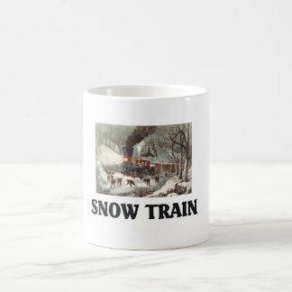 TEE Snow Train Coffee Mug