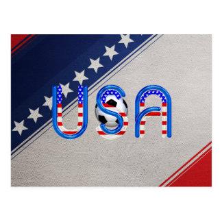 TEE Soccer USA Postcard
