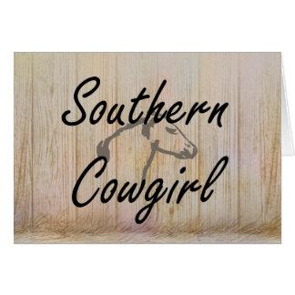 TEE Southern Cowgirl Card