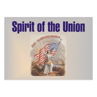 TEE Spirit Of The Union Business Cards