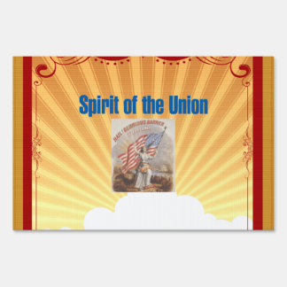 TEE Spirit of the Union Lawn Sign