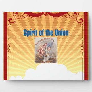 TEE Spirit of the Union Plaque
