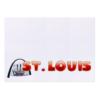 TEE St. Louis Large Business Cards (Pack Of 100)