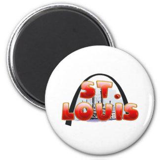 TEE St Louis Fridge Magnet