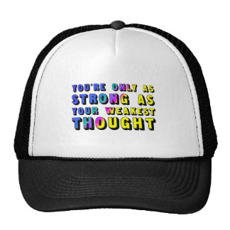 TEE Strong Think Trucker Hat