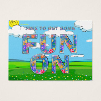TEE Summer Fun Business Card