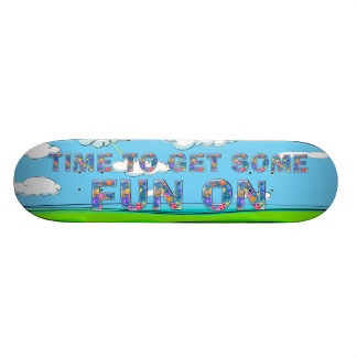 TEE Summer Fun Skateboard Deck