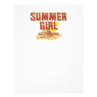TEE Summer Girl Flyer