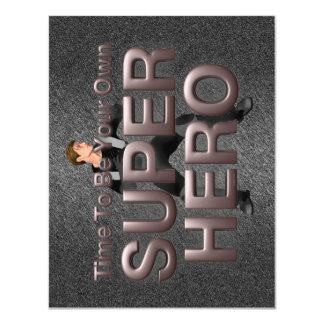 TEE Superhero Man Card