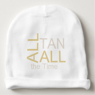 TEE Tan All the Time Baby Beanie