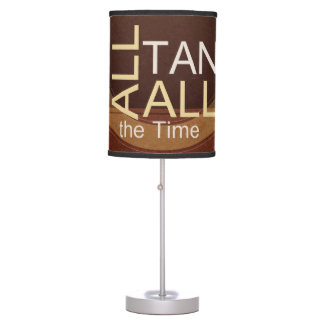 TEE Tan All the Time Table Lamp