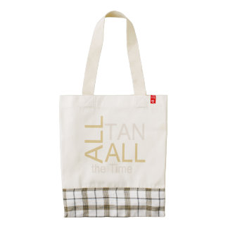 TEE Tan All the Time Zazzle HEART Tote Bag