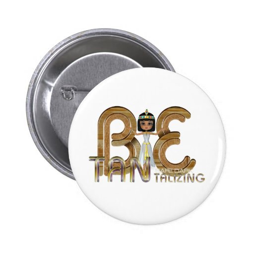 TEE Tantalizing 2 Inch Round Button