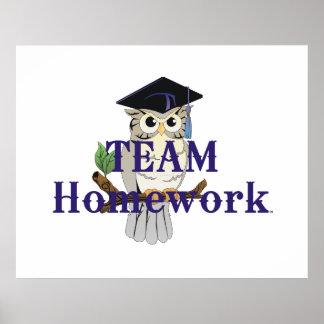 TEE Team Homework Poster