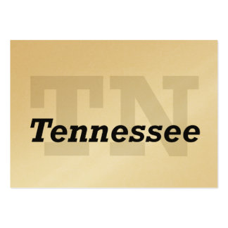 TEE Tennessee Large Business Cards (Pack Of 100)