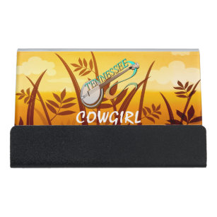 Cowgirl Western Business Card Holders Zazzle