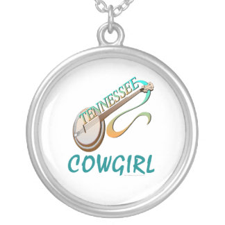 TEE Tennessee Cowgirl Silver Plated Necklace