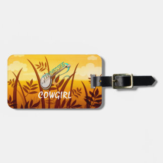 TEE Tennessee Cowgirl Tag For Luggage
