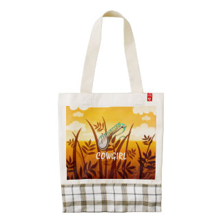 TEE Tennessee Cowgirl Zazzle HEART Tote Bag