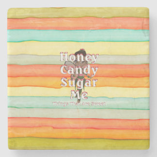 TEE Things That Are Sweet Stone Coaster