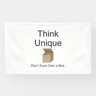 TEE Think Unique Banner