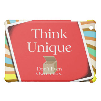 TEE Think Unique iPad Mini Cover