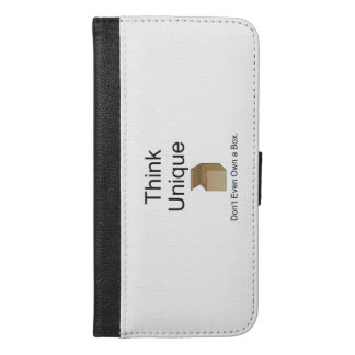 TEE Think Unique iPhone 6/6s Plus Wallet Case