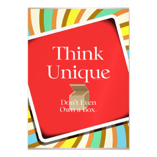 TEE Think Unique Magnetic Card