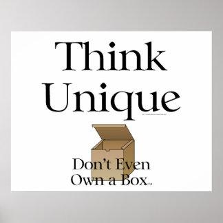 TEE Think Unique Print